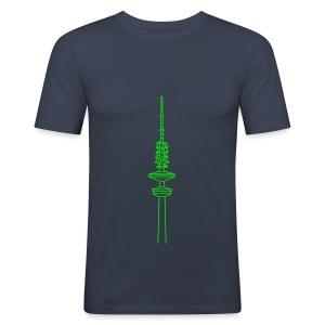 Heinrich-Hertz-Turm Hamburg - Männer Slim Fit T-Shirt
