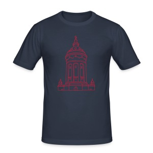 Wasserturm Mannheim - Männer Slim Fit T-Shirt
