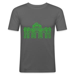 Alcalá-Tor Madrid - Männer Slim Fit T-Shirt