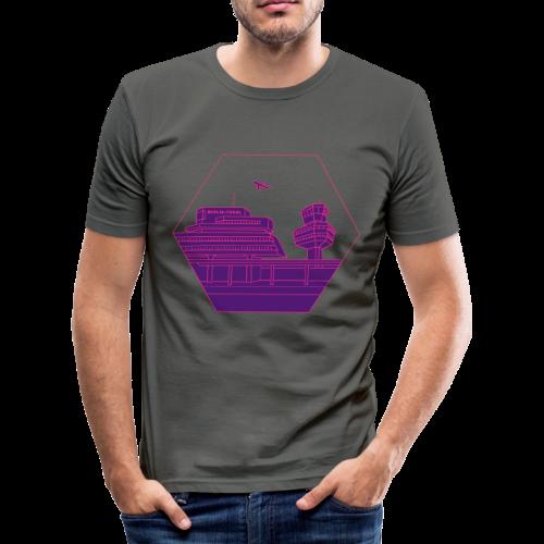 Flughafen Tegel TXL 2 - Männer Slim Fit T-Shirt