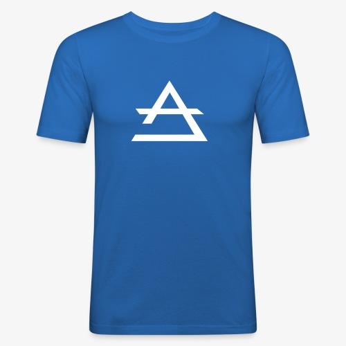 T-shirt moulant Anabu bleu - T-shirt près du corps Homme