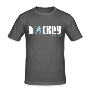 Hockey is Life Men's Slim Fit  T-Shirt - Men's Slim Fit T-Shirt