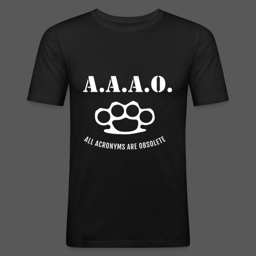 A.A.A.O. - Männer Slim Fit T-Shirt