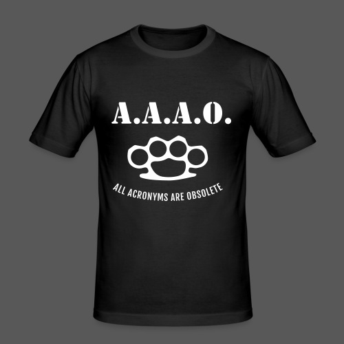 A.A.A.O. - Männer Slim Fit T-Shirt