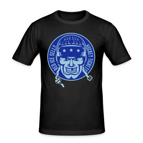 Red Ice Sells Hockey Tickets Men's Slim Fit T-Shirt - Men's Slim Fit T-Shirt