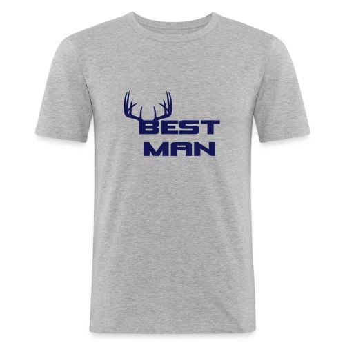 Best Man - Men's Slim Fit T-Shirt