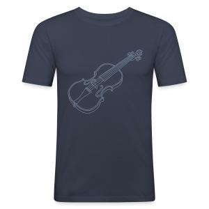 Violine  / Geige - Männer Slim Fit T-Shirt