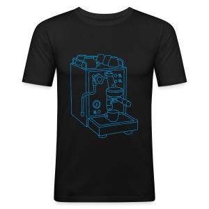 Espressomaschine Barista - Männer Slim Fit T-Shirt