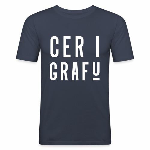 Car I Grafu Men's Slim Fit T-Shirt - Men's Slim Fit T-Shirt