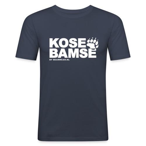 KoseBamse - Men's Slim Fit T-Shirt