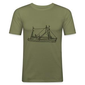Fischerboot - Männer Slim Fit T-Shirt