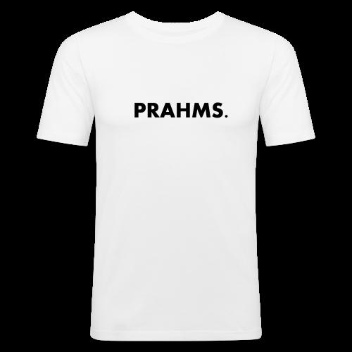 T-Shirt White - Prahms - Männer Slim Fit T-Shirt