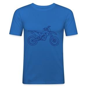 Motocross Motorrad - Männer Slim Fit T-Shirt