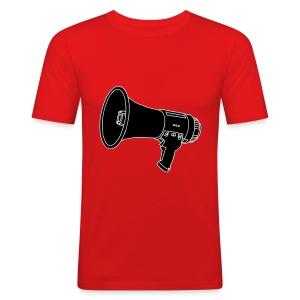 Megafon / Megaphon 2 - Männer Slim Fit T-Shirt