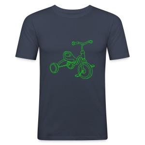 Kinderdreirad - Männer Slim Fit T-Shirt
