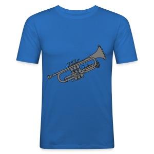 Trompete Blechblasinstrument 2 - Männer Slim Fit T-Shirt