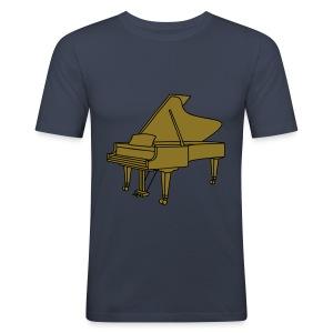 Klavier Konzertflügel 2 - Männer Slim Fit T-Shirt