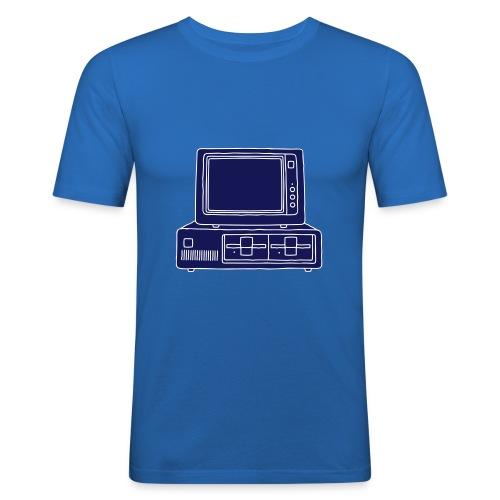 Computer PC 2 - Männer Slim Fit T-Shirt