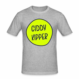 Giddy Kipper Men's Slim Fit T-Shirt - Men's Slim Fit T-Shirt