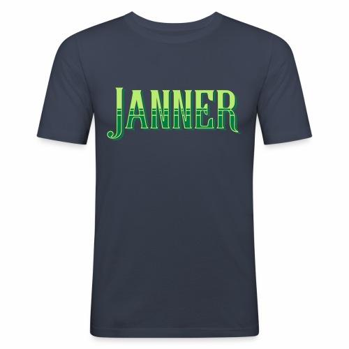 Janner, Devon, Men's Slim Fit T-Shirt - Men's Slim Fit T-Shirt