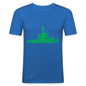 Schlepper Schleppschiff 2 - Männer Slim Fit T-Shirt