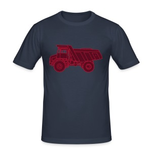 Muldenkipper Kipplaster 2 - Männer Slim Fit T-Shirt