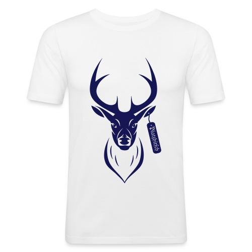 Platz Hirsch - Männer Slim Fit T-Shirt