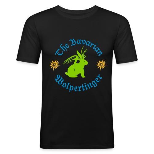 The Bavarian Wolpertinger - Männer Slim Fit T-Shirt