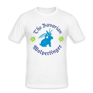 The Bavarian Wolpertinger - Männer Slim Fit T-Shirt