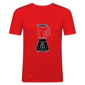MIXER Standmixer 2 - Männer Slim Fit T-Shirt