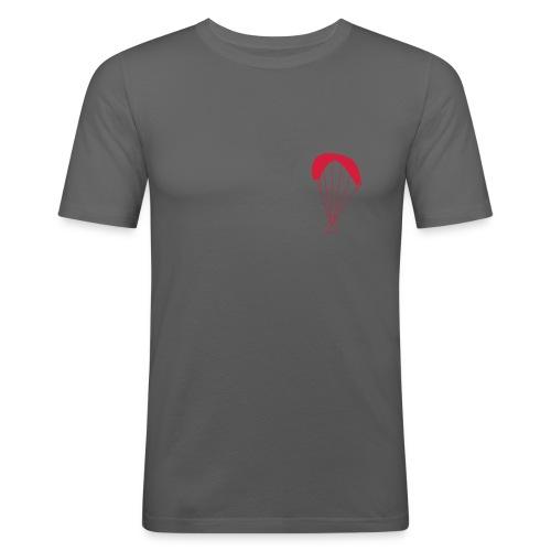 Gleitschirm. Slim-Fit - Männer Slim Fit T-Shirt