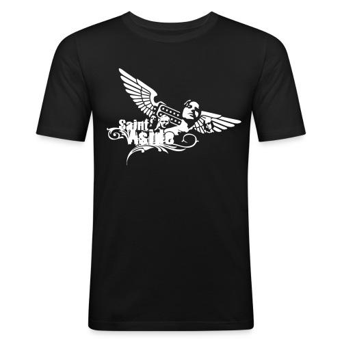 Nates Shirt (schwarz) - Men - Männer Slim Fit T-Shirt