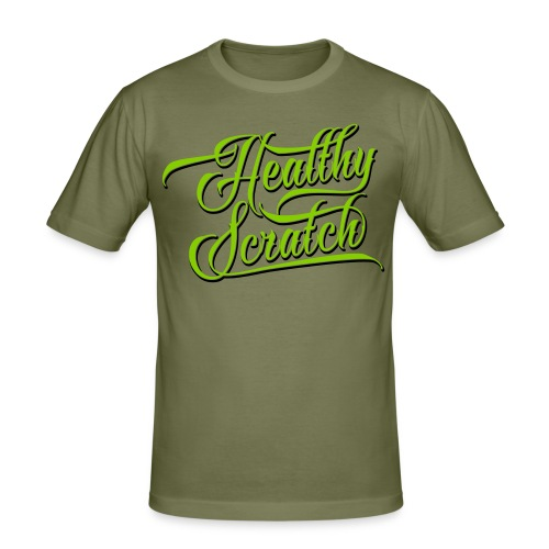 Healthy Scratch Men's Slim Fit T-Shirt - Men's Slim Fit T-Shirt