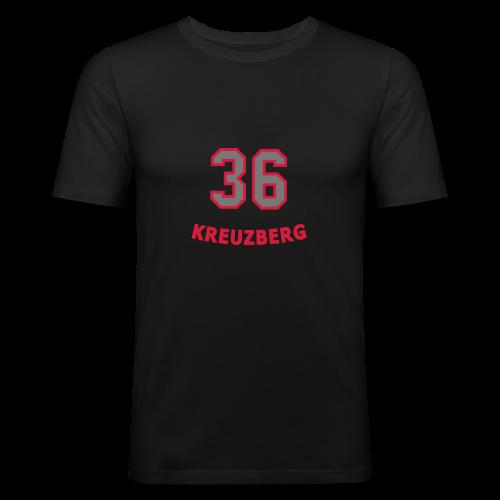 KREUZBERG 36 - Männer Slim Fit T-Shirt