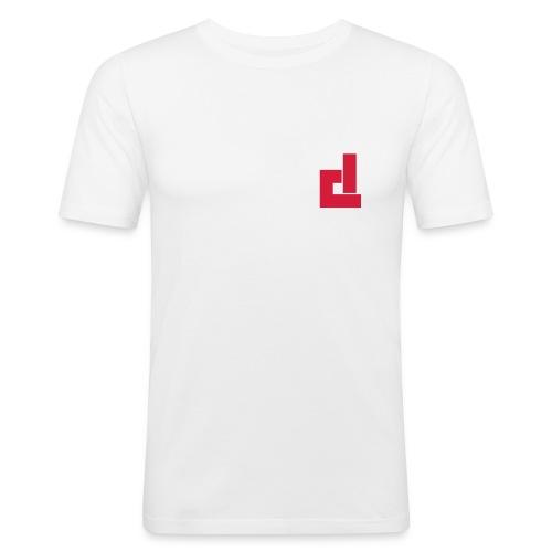 T-Shirt DC H blanc - T-shirt près du corps Homme