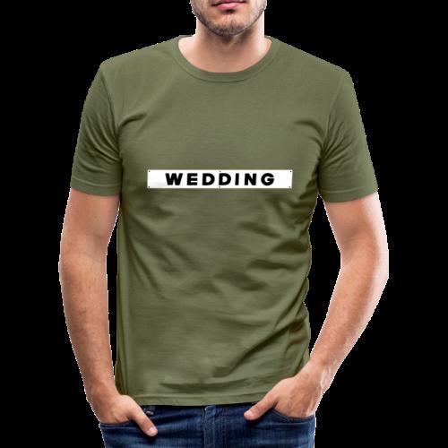 WEDDING Berlin - Männer Slim Fit T-Shirt