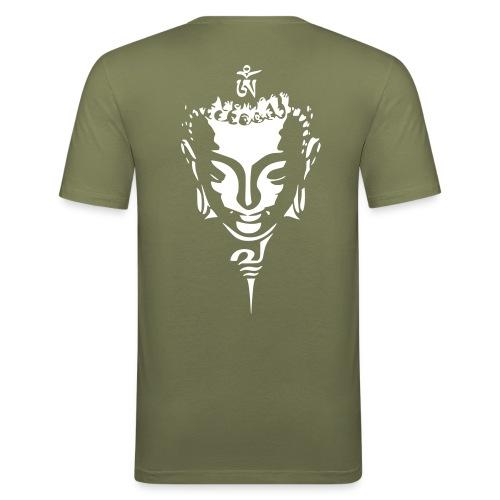 boudha kaki - T-shirt près du corps Homme