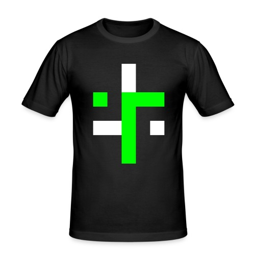 TT L12 - NEON ON BLACK - Men's Slim Fit T-Shirt