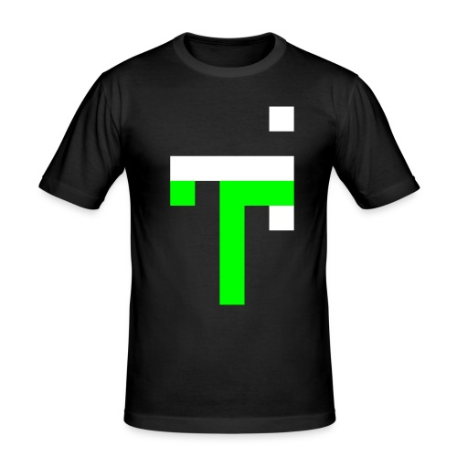 TT L6 - NEON ON BLACK - Men's Slim Fit T-Shirt