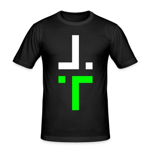TT L11 - NEON ON BLACK - Men's Slim Fit T-Shirt