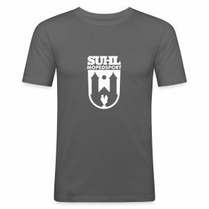 Suhl Mopedsport Hahn Logo - Men's Slim Fit T-Shirt