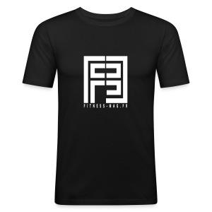 Tshirt Moulant Fitness Mag 100% coton - Tee shirt près du corps Homme