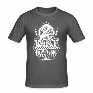 2-Takt-Kraft / Zweitaktkraft - Männer Slim Fit T-Shirt