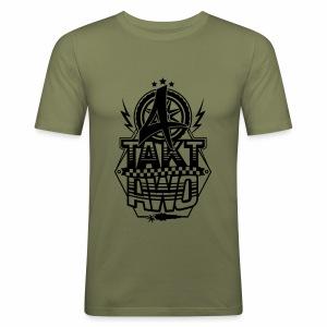 4-Takt-Awo / Viertaktawo - Men's Slim Fit T-Shirt