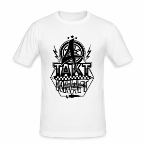 4-Takt-Kraft / Viertaktkraft - Männer Slim Fit T-Shirt