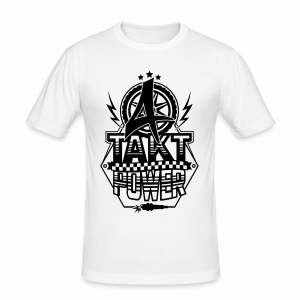 4-Takt-Power / Viertaktpower - Männer Slim Fit T-Shirt
