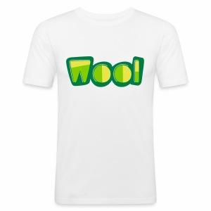 Wool (Liverpool Slang) Men's Slim Fit T-Shirt - Men's Slim Fit T-Shirt