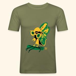 schräger vogel - Männer Slim Fit T-Shirt