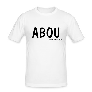 Abou Vit - Slim Fit T-shirt herr