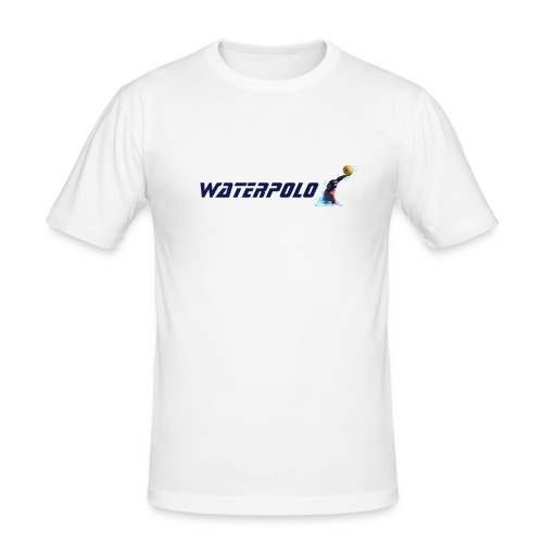 Waterpolo player (slim fit) - Männer Slim Fit T-Shirt